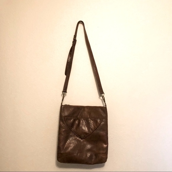 5/$25 Matt & Nat Crinkled Vegan Leather Crossbody